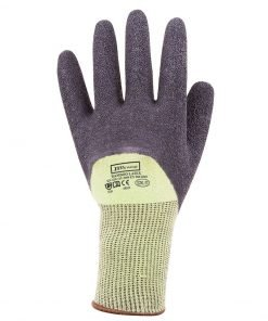 bamboo latex crinkle gloves