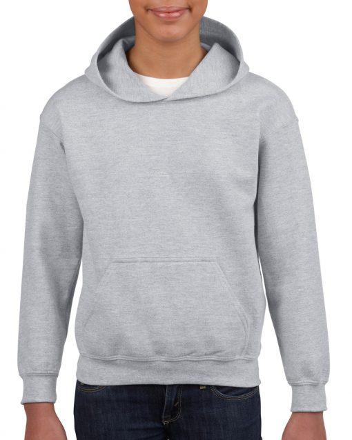 gildan heavy blend youth hooded sweatshirt 18500b